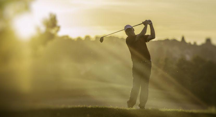 Att golfa är bra för hälsan